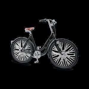 beskyt cyklen med en kædelås
